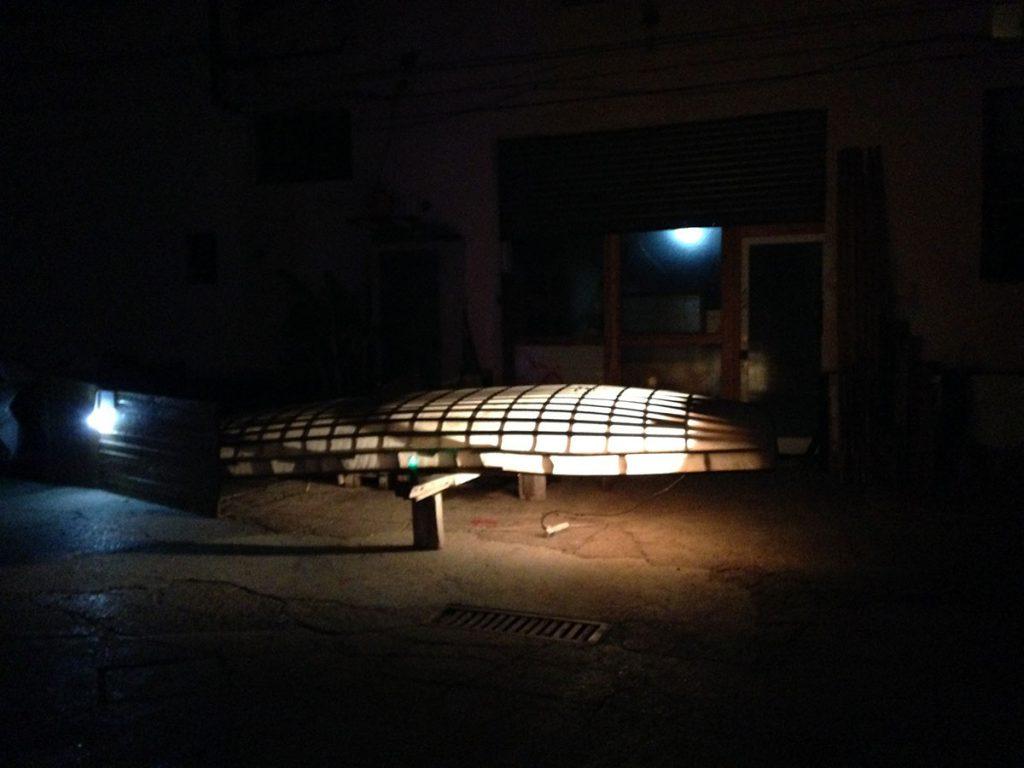 """Mark Redden, """"Light boat"""", 2015"""